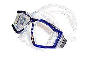 Genesis PanView Silicone Panoramic 4 window Scuba/Snorkeling Mask Dive Diving Snorkel Authorized Dealer Full Warranty