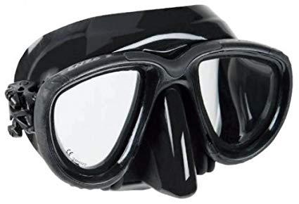 OceanPro Enzo 2 Free Dive Mask (Black / Black)