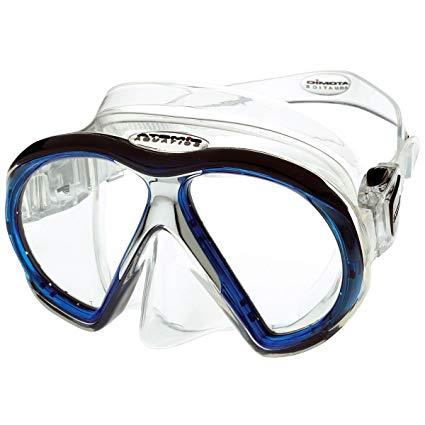 Atomic Sub Frame MEDIUM FIT Scuba Diving Mask for narrower faces, Snorkeling, Spearfishing, free diving