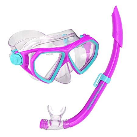 U.S. Divers Youth Dorado Seabreeze Jr. Snorkel Mask