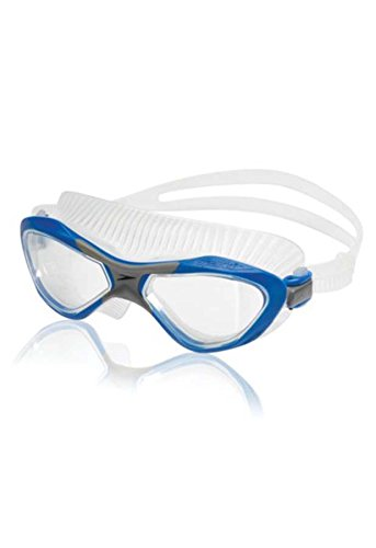 Speedo 7530486 Unisex Caliber Mask, Imperial Blue/Smoke Pearl, OS