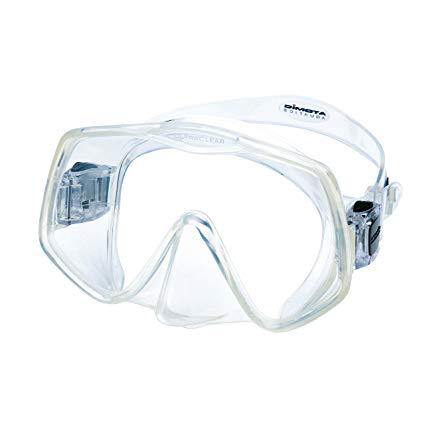 Atomic Frameless 2 Scuba Mask (Clear,Medium Fit)