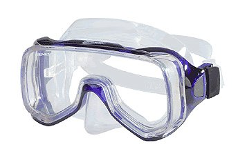 Genesis Islander Silicone Comfortable Mask with Side Vision Scuba Dive Diving Diver Snorkel Snorkeling