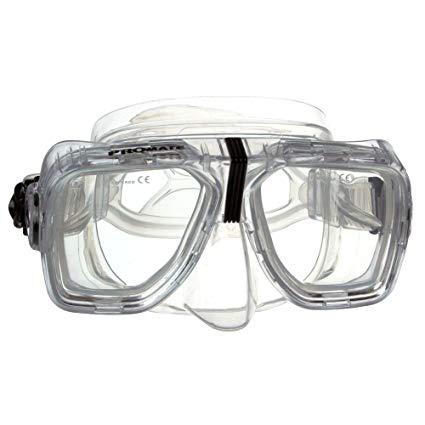 GetWetStore RX Scuba Dive Snorkeling Mask Prescription Lenses