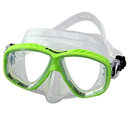 Promate Farsightedness RX Prescription Snorkeling Mask with Farsight Optical Corrective Lens +1.0 to +4.0