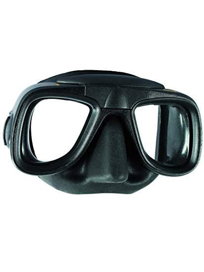 Mares Pure Instinct Samurai Low Profile Spearfishing Mask (Black)