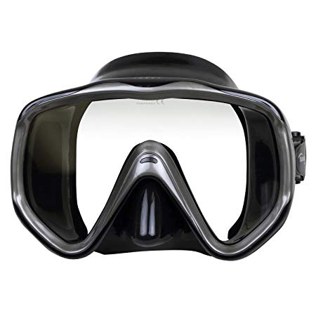 ScubaMax Abaco Single Lens Oversize Dive Mask Scuba Snorkeling Swimming
