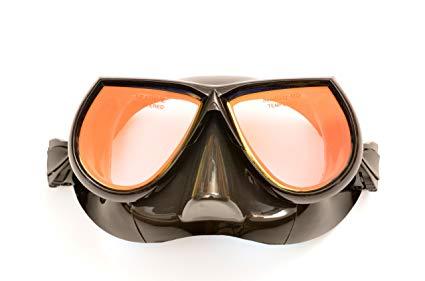 SeaDive Sea Diver Rayblocker-HD w/Anti-Fog Scuba/Spearfishing Dive Mask (SDM540BKSFF)